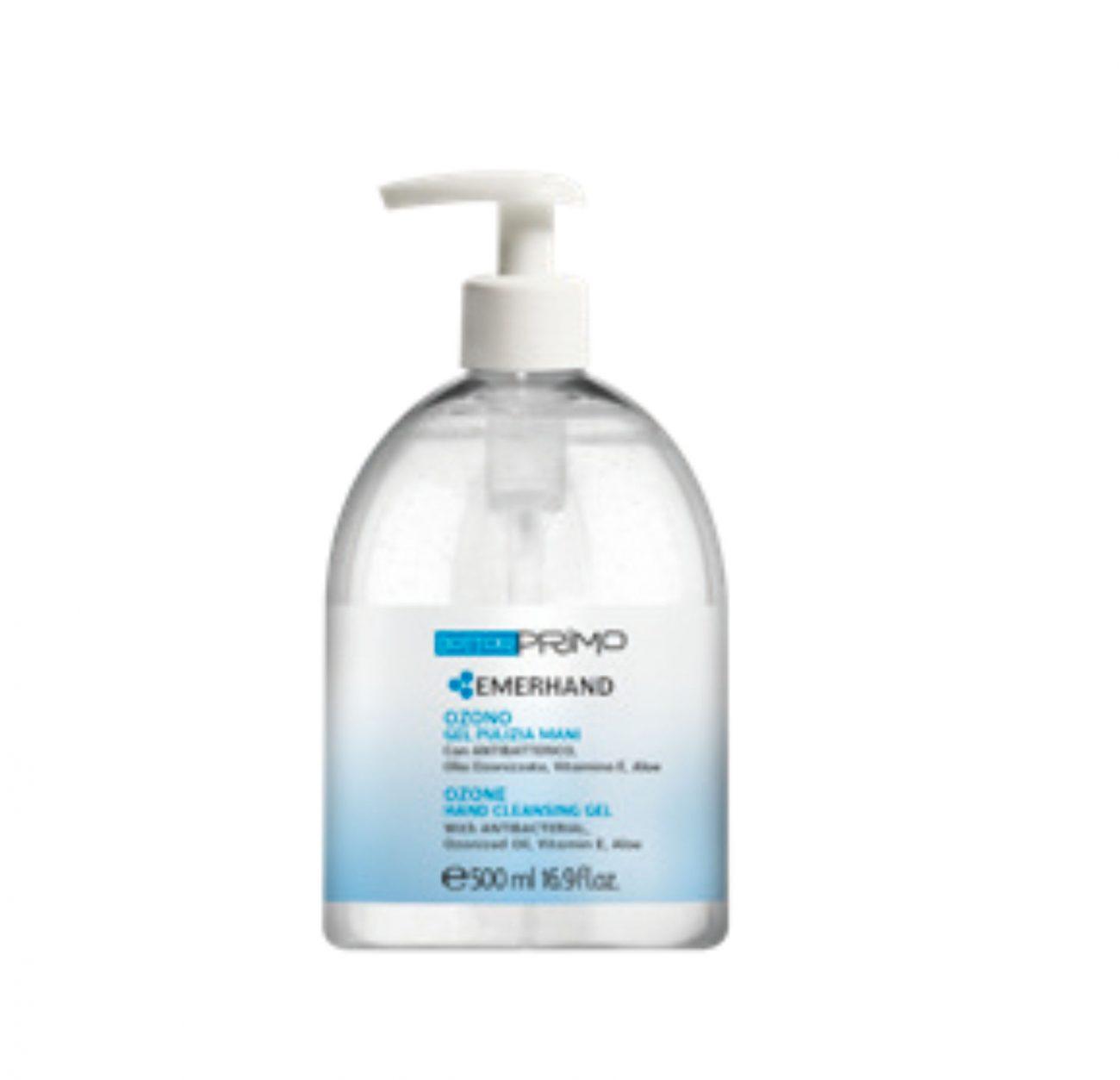gel ozono mani 500 ml