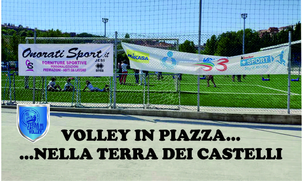 volley in piazza